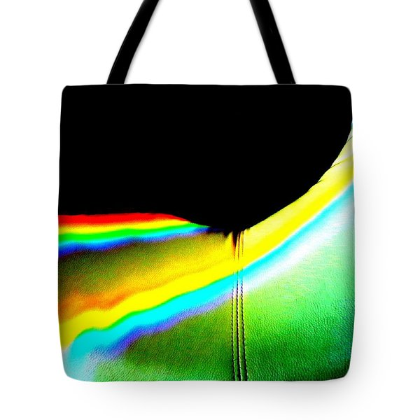 Come-sit In My Rainbow Tote Bag