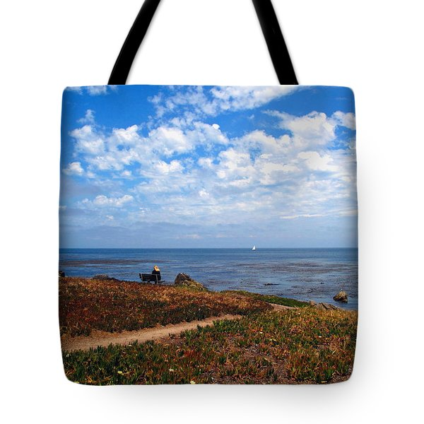 Tote Bag featuring the photograph Come Sit With Me by Joyce Dickens