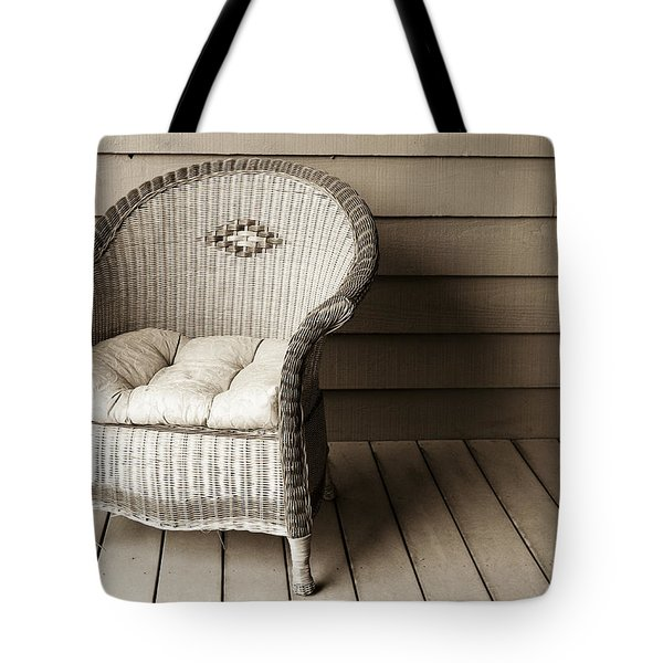 Come Sit With Me Tote Bag by Marilyn Hunt