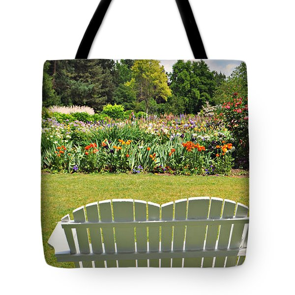 Come To The Garden  Tote Bag