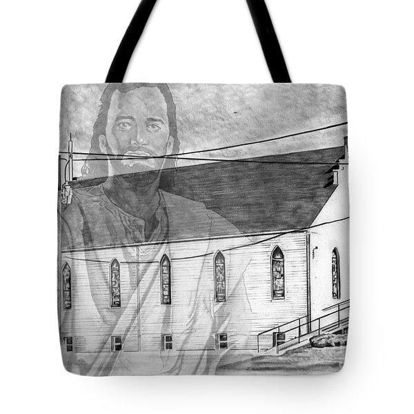 Come Unto Me Tote Bag by Bill Richards