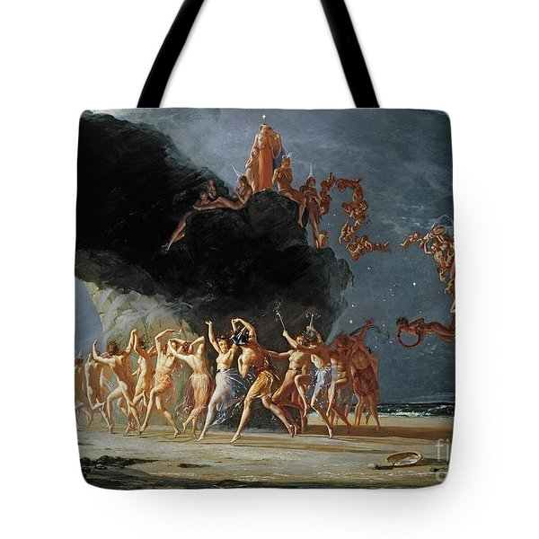 Come Unto These Yellow Sands Tote Bag by Richard Dadd