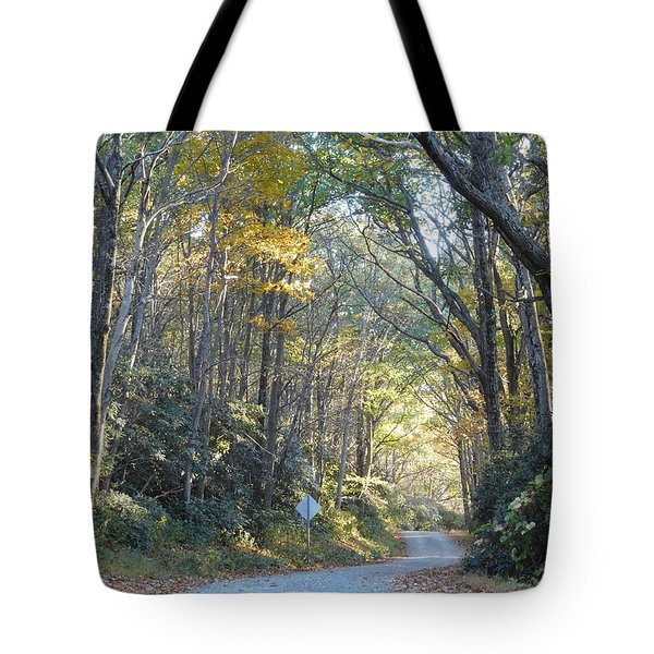Come Walk Into Autumn With Me Tote Bag