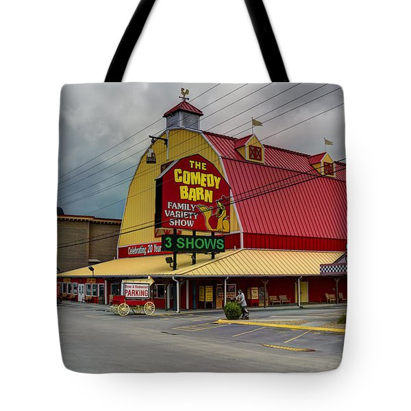 Comedy Barn Pigeon Forge Tote Bag
