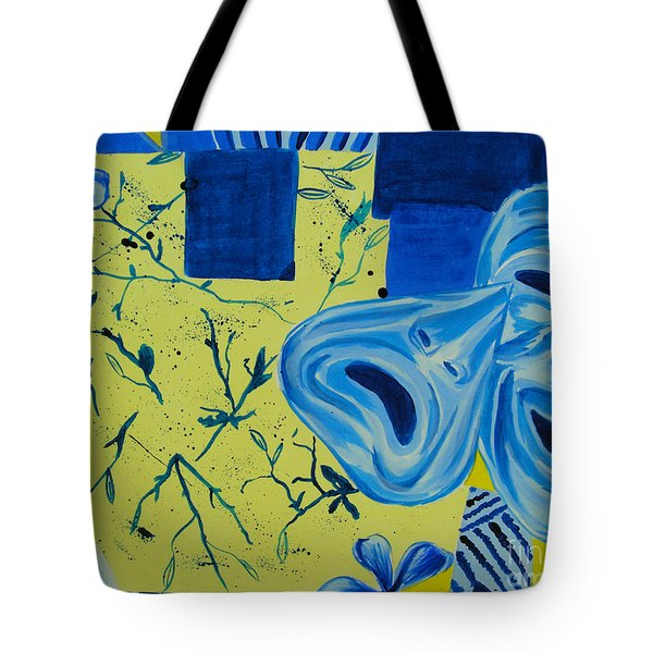 Comedy Or Tragedy Tote Bag