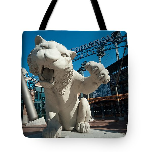 Comerica Park Entrance Tote Bag