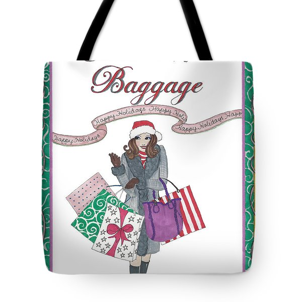Comes With Baggage - Holiday Tote Bag