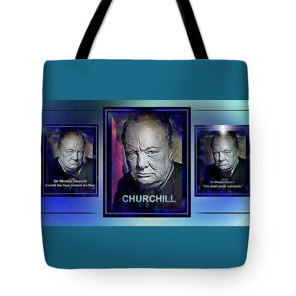 Cometh The Hour . . .  Tote Bag