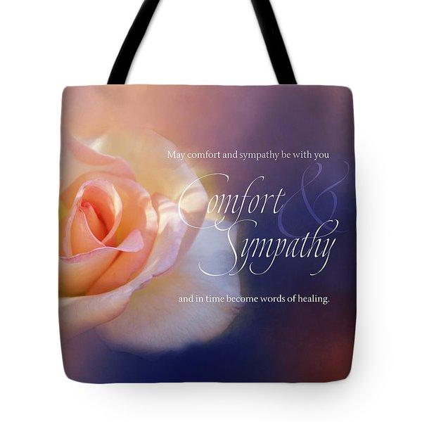 Comfort And Sympathy Tote Bag