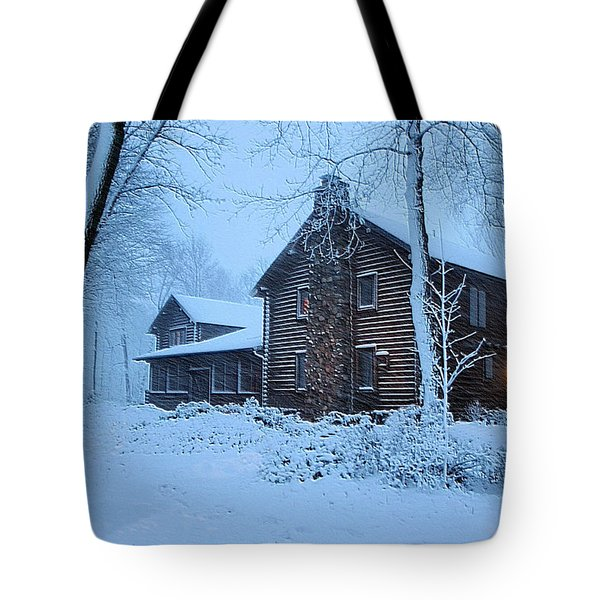 Comfort From The Cold Tote Bag by Kristin Elmquist
