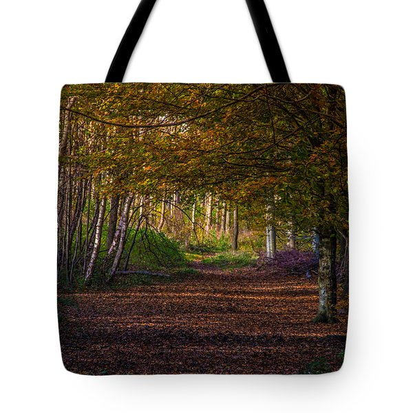 Comfort In These Woods Tote Bag