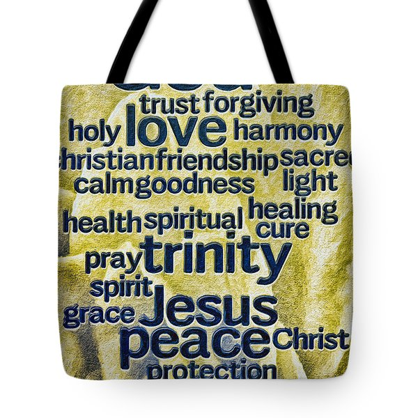 Comfort Words Tote Bag