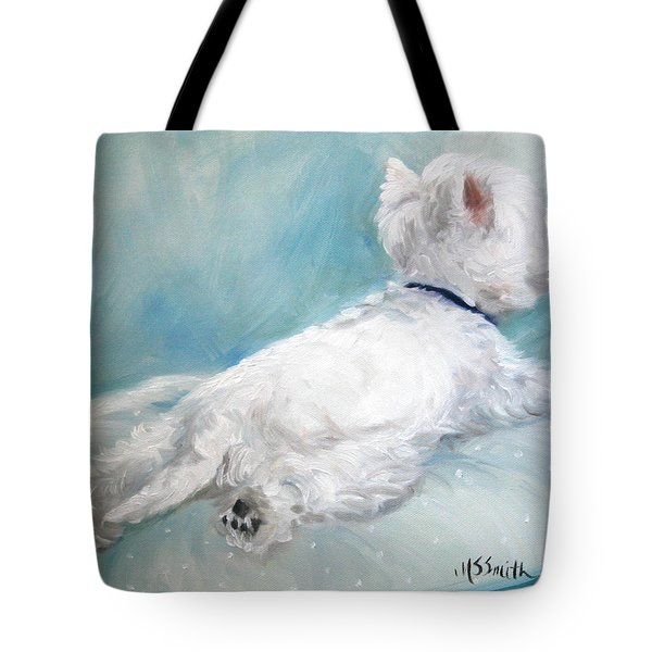 Comfort Zone Tote Bag by Mary Sparrow