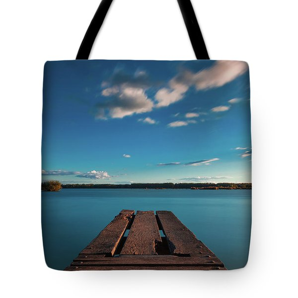 Tote Bag featuring the photograph Comfortably Numb by Davor Zerjav