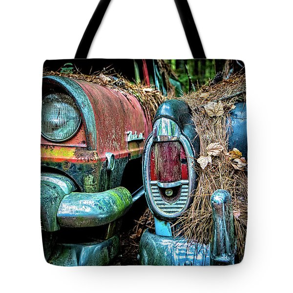 Coming And Going, 2 Tote Bag