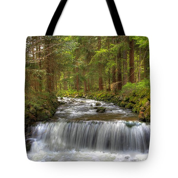 Coming Around The Bend Tote Bag