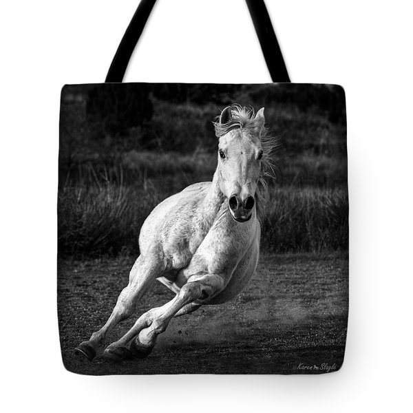 Coming At Ya Tote Bag by Karen Slagle