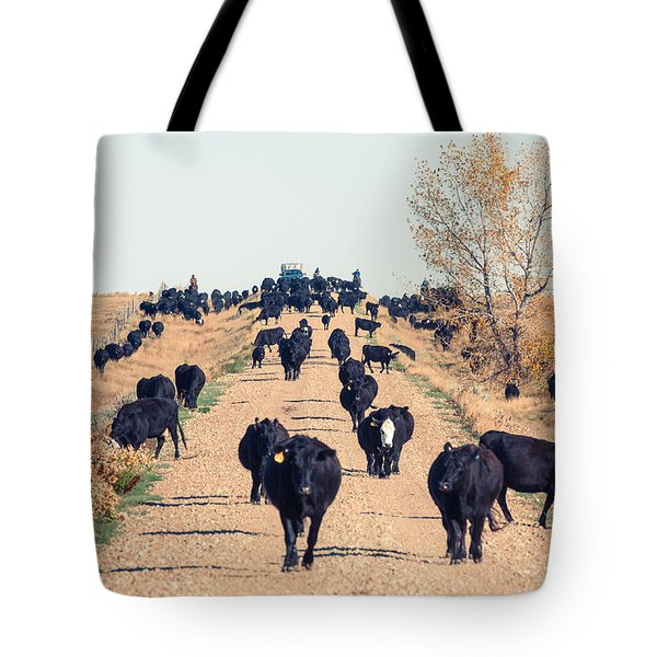 Coming Down The Road Tote Bag