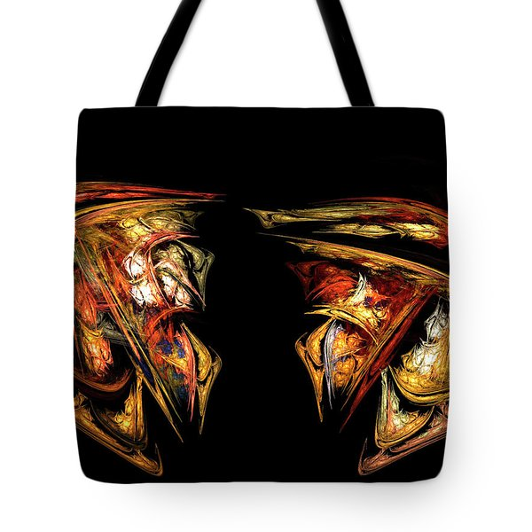 Coming Face To Face Tote Bag