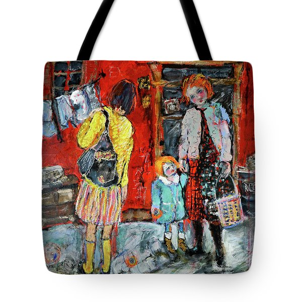 Coming For You Tote Bag by Sharon Furner
