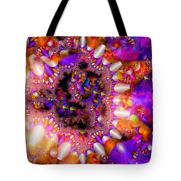 Tote Bag featuring the digital art Coming Home by Robert Orinski
