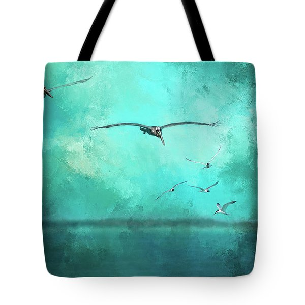 Coming Into View Tote Bag