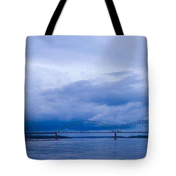 Coming Storm Tote Bag