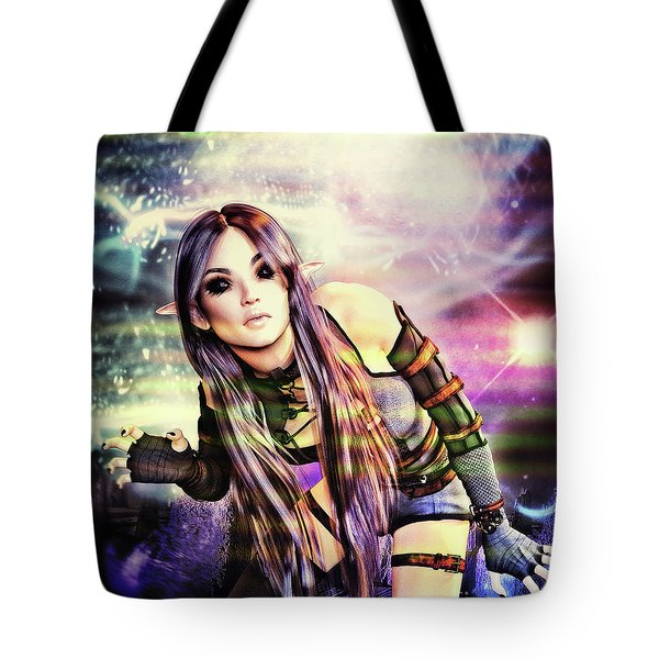 Coming Through In Waves Tote Bag