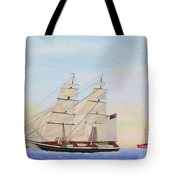 Coming To America - 1872 Tote Bag