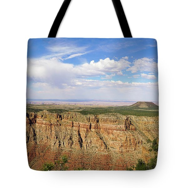 Coming To The End Tote Bag