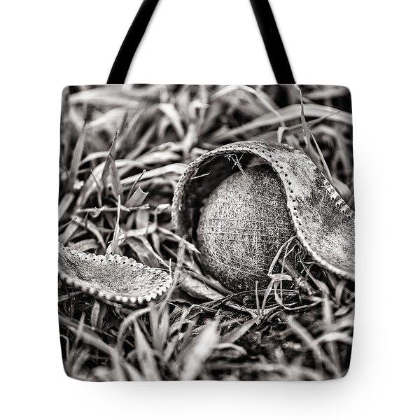 Coming Undone Tote Bag by CJ Schmit