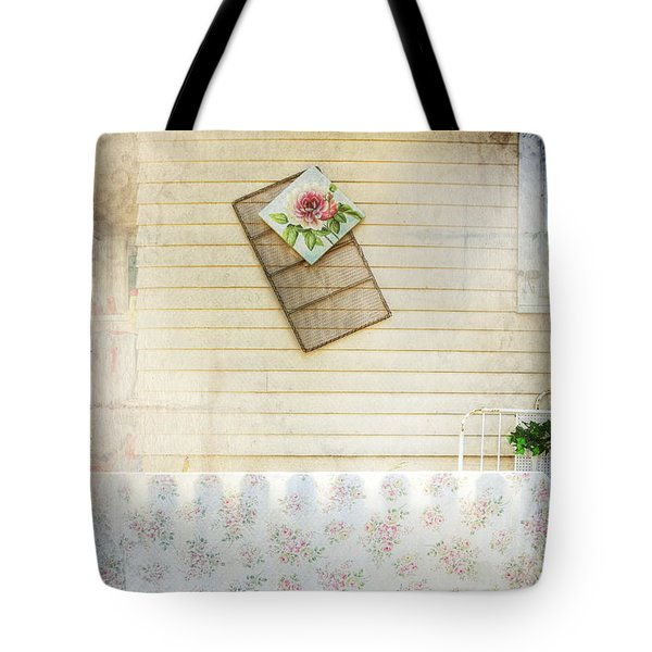 Coming Up Roses Tote Bag