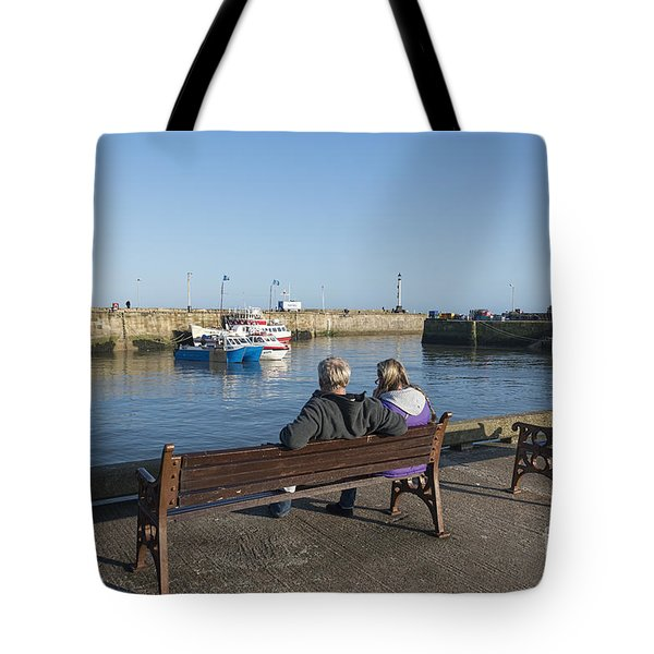 Comings And Goings Tote Bag by David  Hollingworth