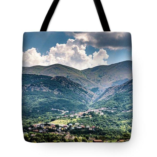 Cominio Tote Bag by Randy Scherkenbach