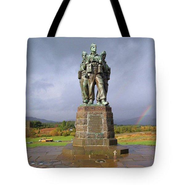 Commando Memorial Tote Bag