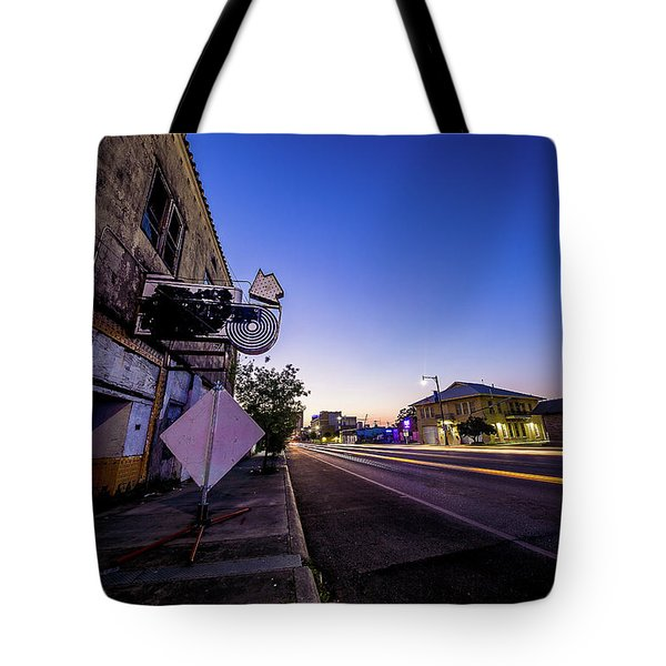 Commerce East Tote Bag by Micah Goff