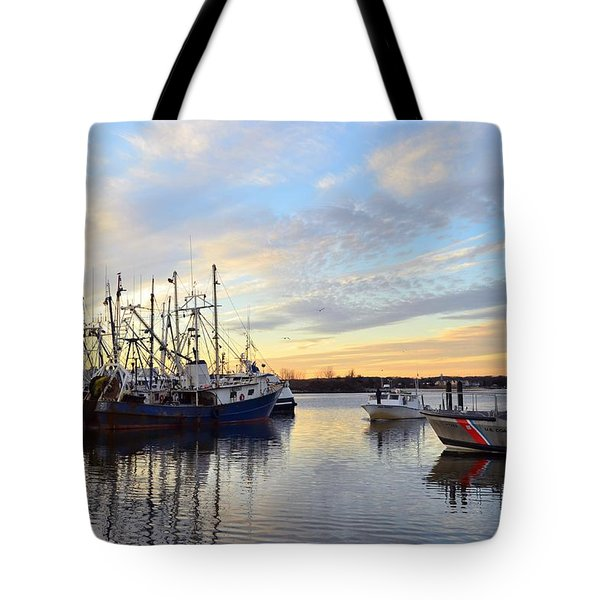 Commercial Fishing Fleet Of Point Pleasant Tote Bag