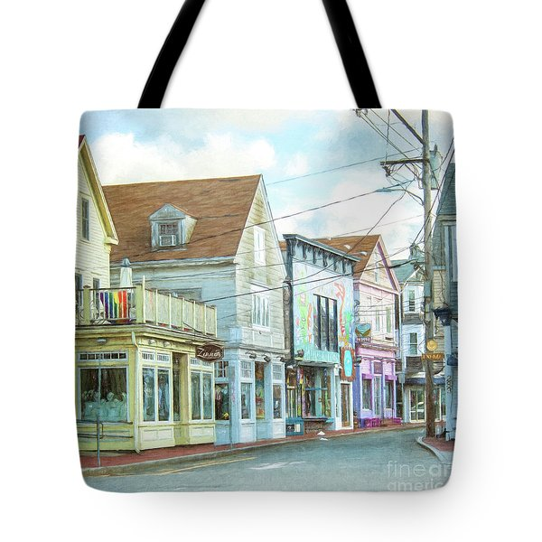 Commercial St #1 Tote Bag