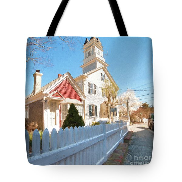 Commercial St. #3 Tote Bag