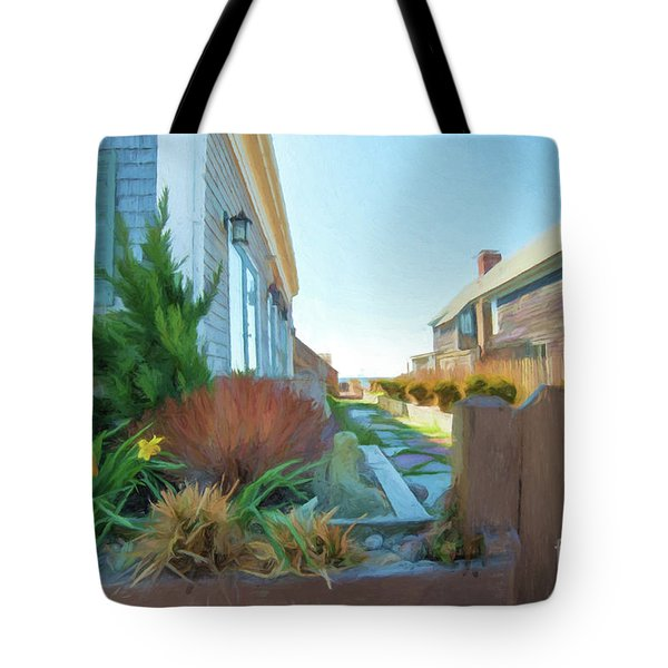 Commercial St. #4 Tote Bag