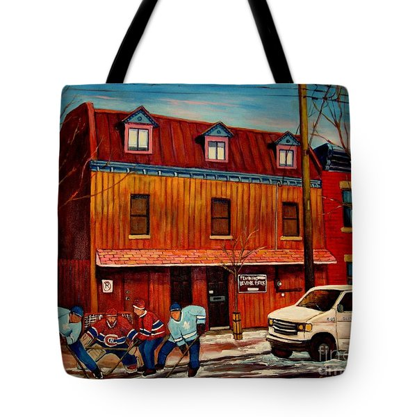 Commission Me Your Store Tote Bag by Carole Spandau