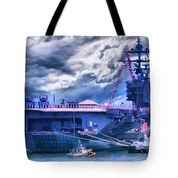 Commissioned Tote Bag by DJ Florek
