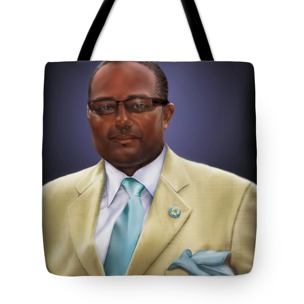 commissioned piece Brian1 Tote Bag by Reggie Duffie