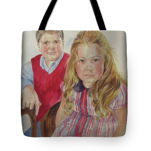 Commissioned Portrait Tote Bag