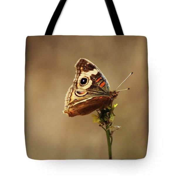 Common Buckeye Tote Bag by Richard Stephen