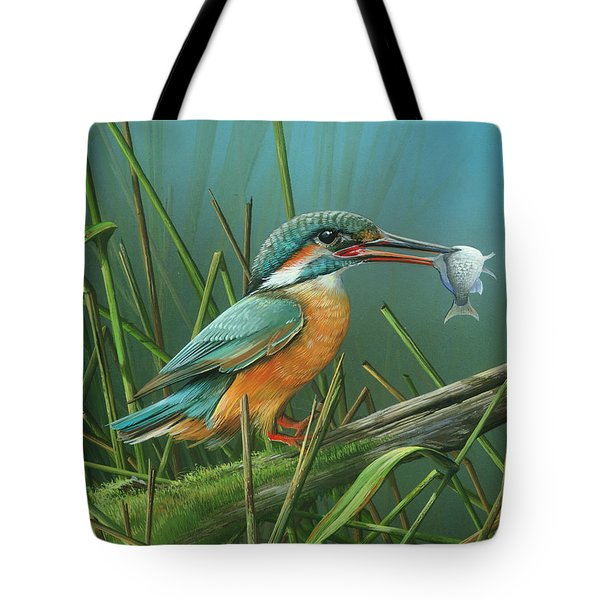 Common Kingfisher Tote Bag