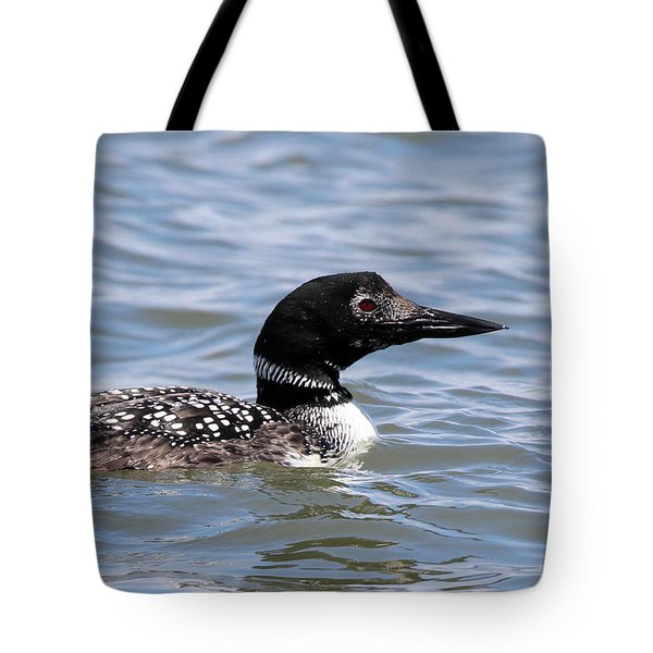 Common Loon Port Jefferson New York Tote Bag