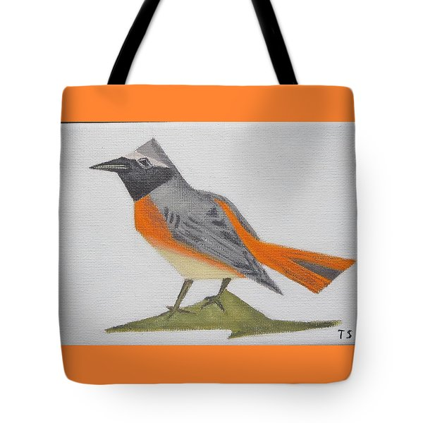 Common Redstart Tote Bag