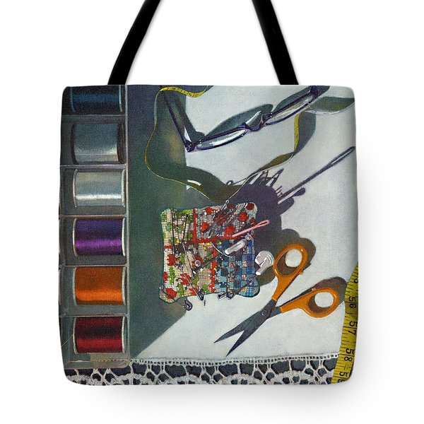 Common Thread Tote Bag