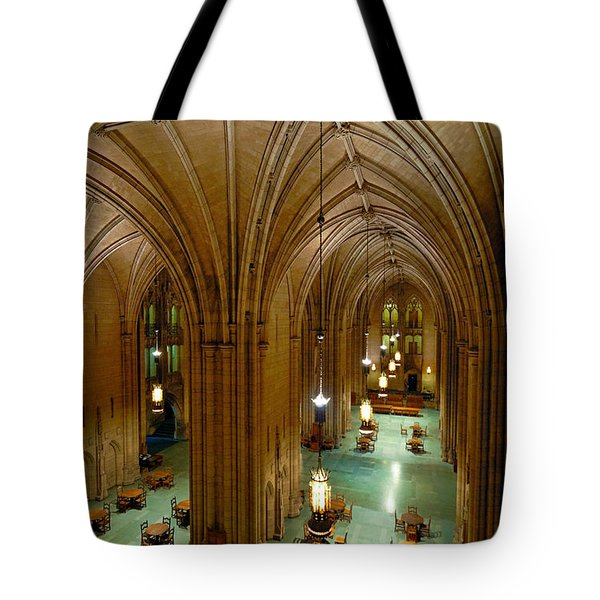 Commons Room Cathedral Of Learning - University Of Pittsburgh Tote Bag